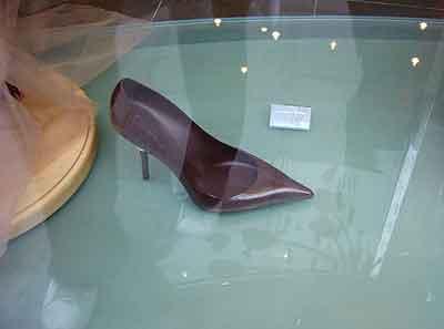 Zapato de chocolate