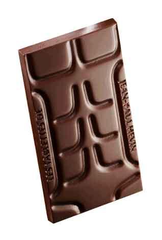 Tableta de chocolate atlética