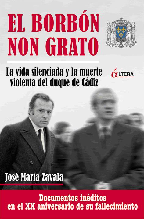 """Portada de """"El Borbón non grato"""""""
