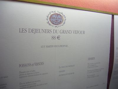Restaurante Grand Vefour