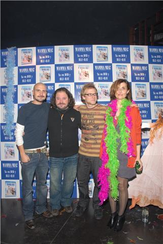 Fernando Ramallo, Ismael Fritschi e Isabel Ampudia