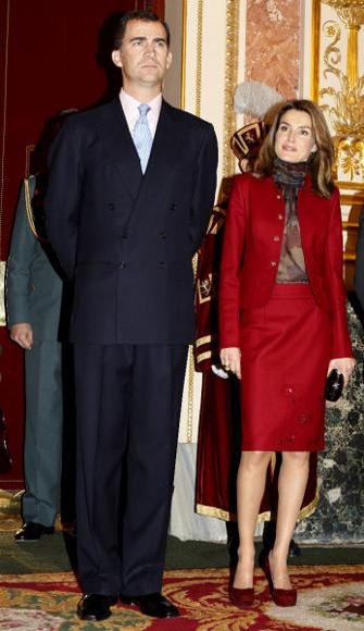 Los Principes de Asturias el dia del 30 aniversario de la Constitución